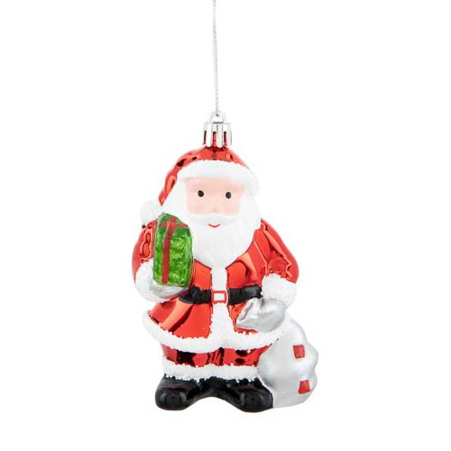 Single Santa Tree Decoration