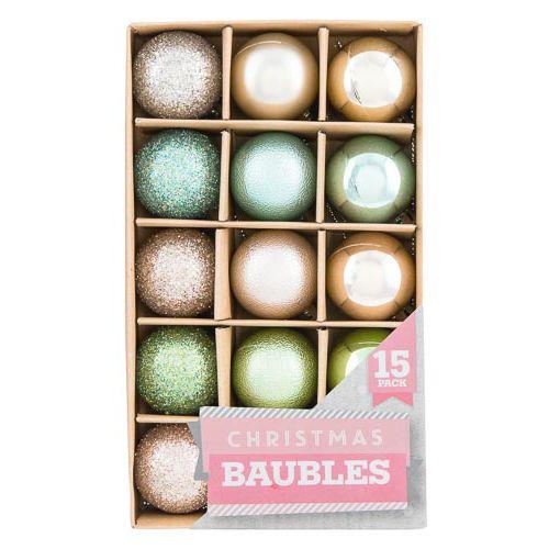 Kraft Box Baubles 15 Pack