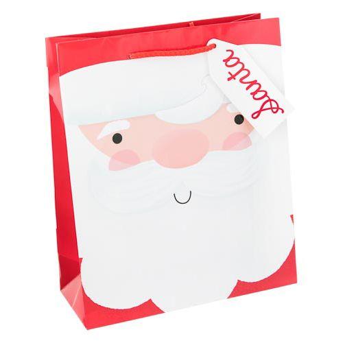 Medium Santa Gift Bag  2 Pack