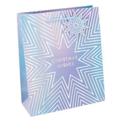 Medium Holographic Gift Bag 2 Pack