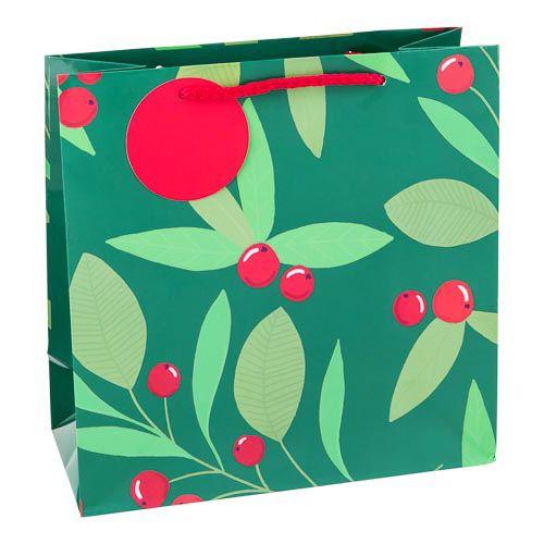 Small Holly Gift Bag