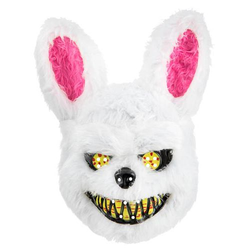 Furry Scary Bunny Mask