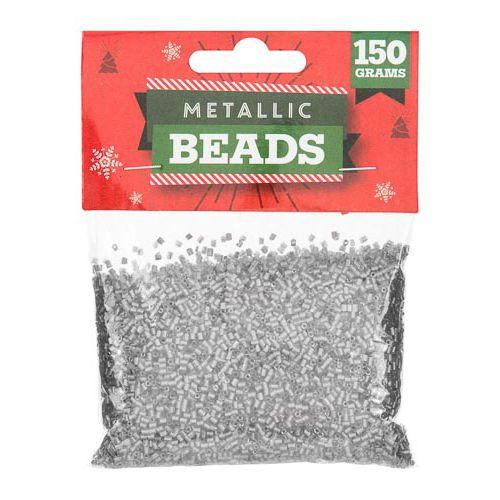 Craft Metallic Silver Beads