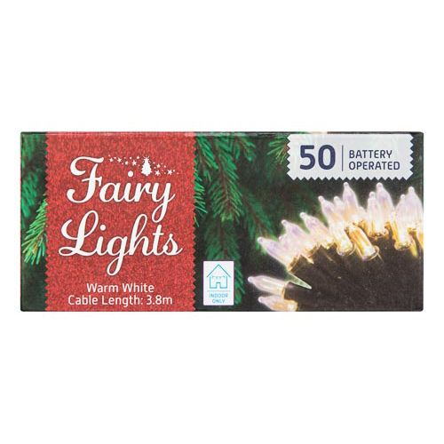 Clear Fairy Lights 50 Pack