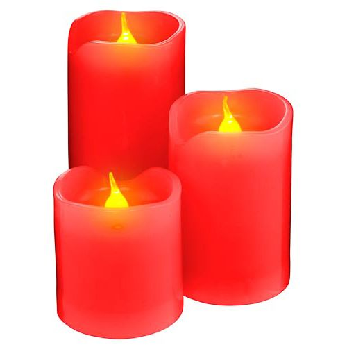 Led Candles 3 Pack