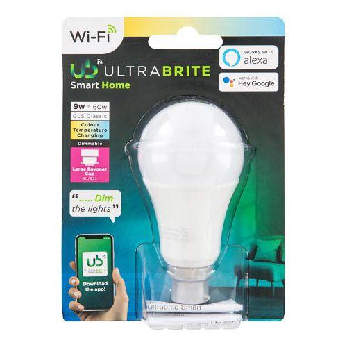 Ultra Brite Smart Home Bulb 60w