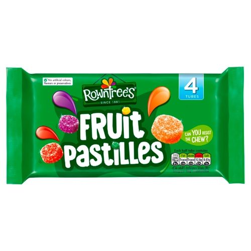 Rowntrees Fruit Pastilles 4x45g