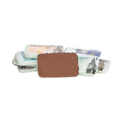Milk Chocolate Bank Notes 128g