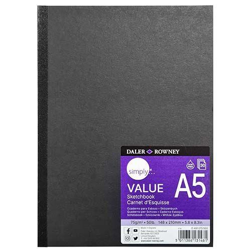 Daler-Rowney Simply A5 Hb Value Sketchbook