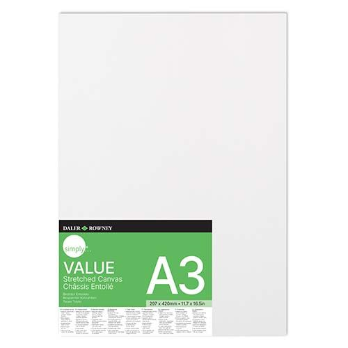Daler-Rowney Simply Value Stretched Canvas A3