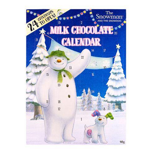 Snowman Advent Calender 40g