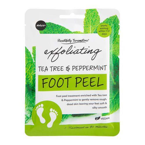 Beaut Scrumptious Tea Tree & Peppermint Foot Peel