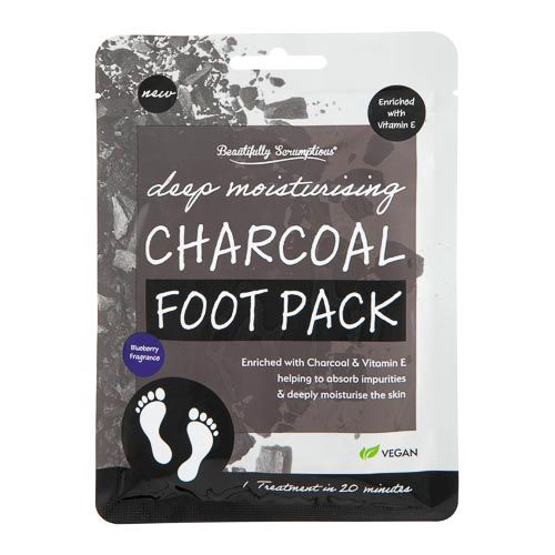 Bs Charcoal & Blueberrry Foot Pack