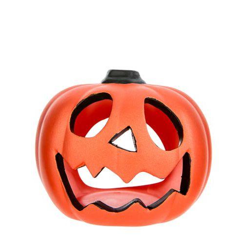 Pumpkin Ceramic Tealight Holder