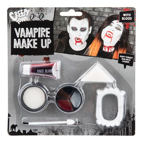 Vampire Make Up Kit W/blood