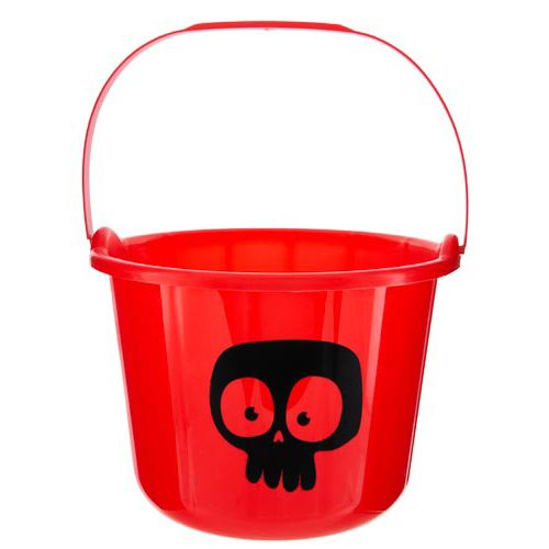 Plastic Printed Loot Bucket
