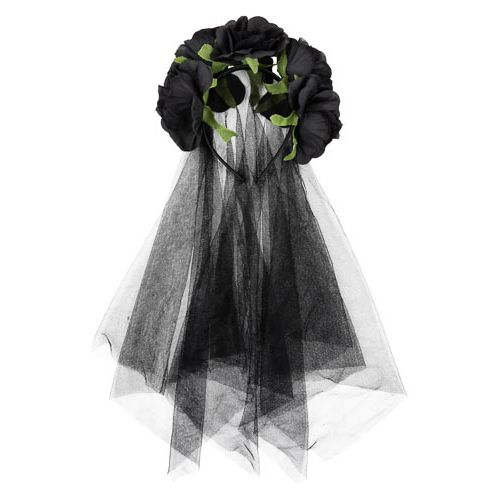 Headband With Veil