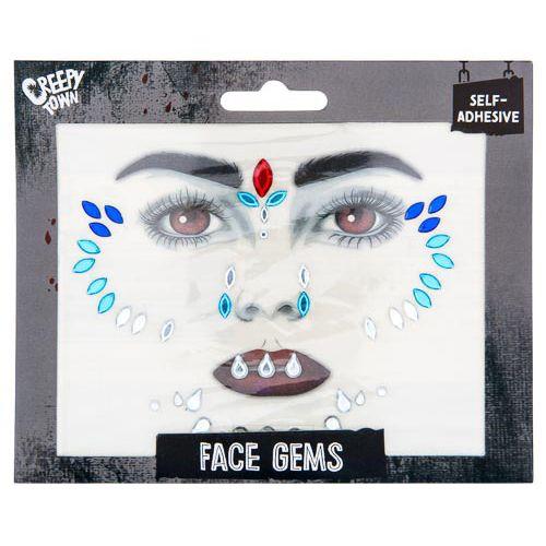 Halloween Face Gems