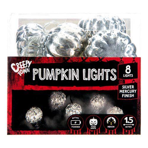 Skull/pumpkin String Light 8pk