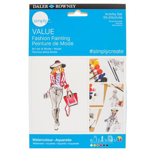 Simply Value Watercolour Project Set - Fashion