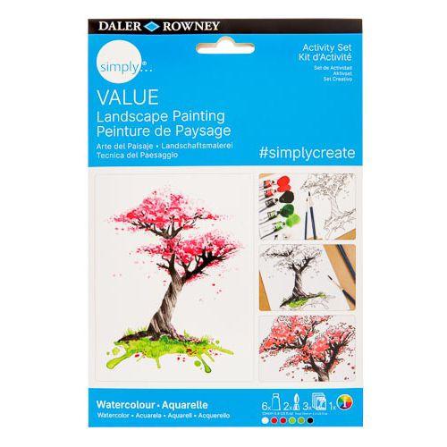 Simply Value Watercolour Project Set - Landscape
