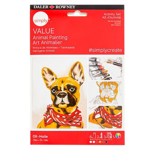 Simply Value Oil Project - Dog Portrait