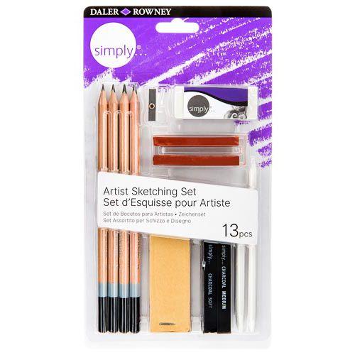 Daler-Rowney Simply Value Pencil Art Set