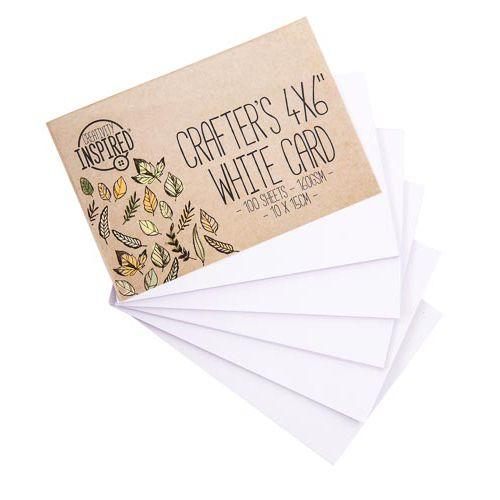Trend Card White 100pk