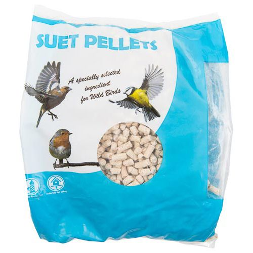 Wild Bird Suet Pellets 500g