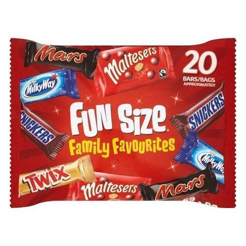 Mars Variety Funsize Family Favourites Bag 358g