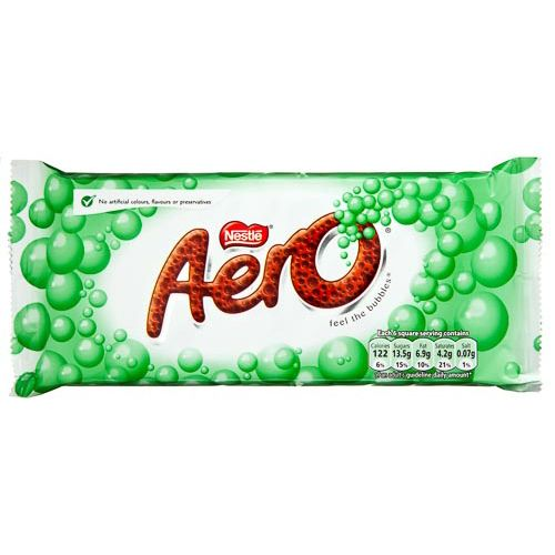 AERO PEPPERMINT CHOCOLATE 105G