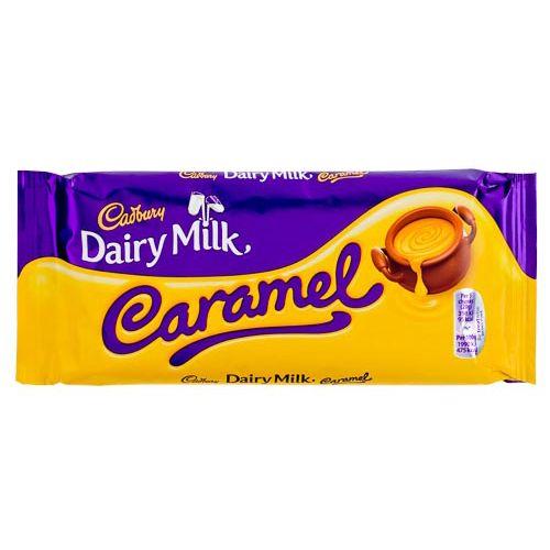 Cadbury Dairy Milk Caramel Block 120g