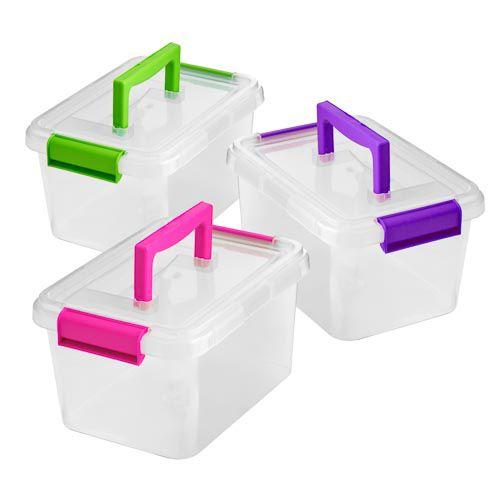 Plastic Clippy Box