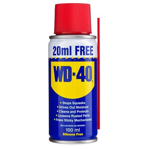 WD40 Can 80ml +20ml Extra Free