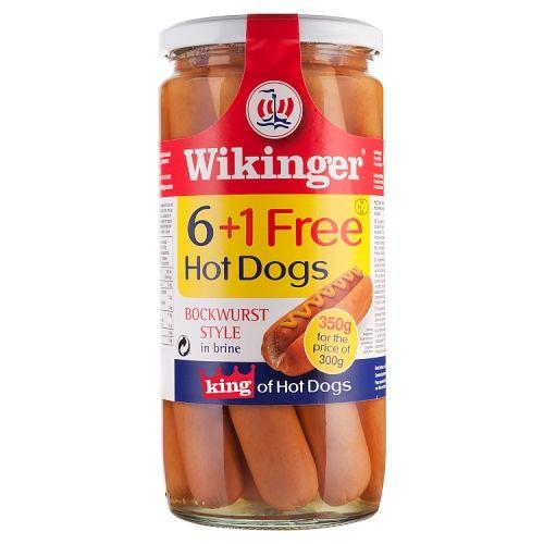 Wikinger Hot Dog 6+1 Gree 350g