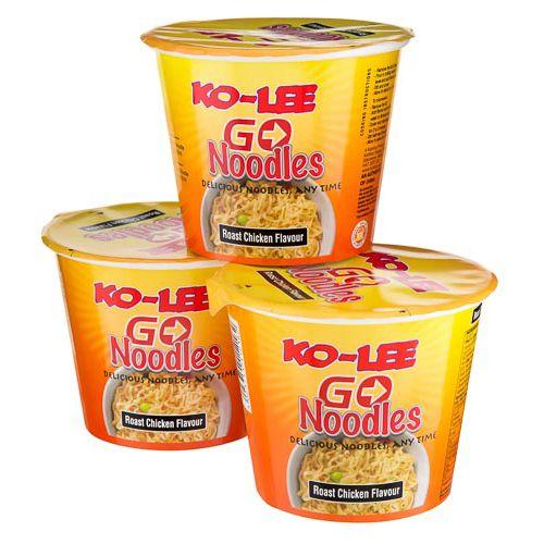 KO-LEE GO CUPS ROAST CHICKEN 3X65G