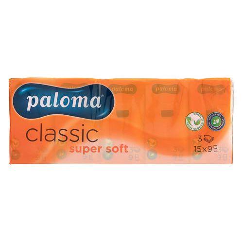 Paloma Soft 3ply Pocket Tissues 10x15pk