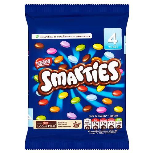 Nestle Smarties 4x45.75g