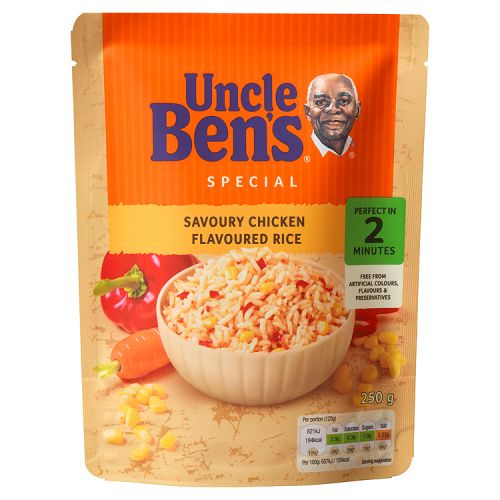 UNCLE BEN'S EXPRESS CHICKEN RICE 250G