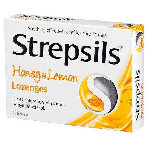 STREPSILS HONEY AND LEMON 8 PACK