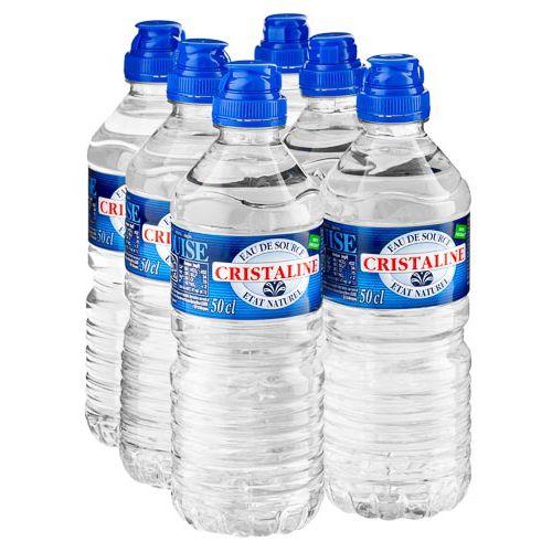Cristaline Sportscap Water 6 X 500ml