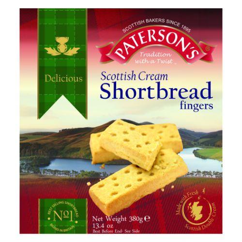 Pattersons Shortbread Fingers 380g