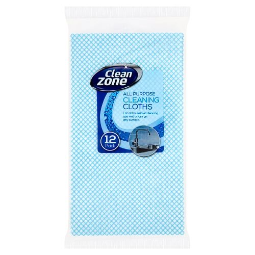 All Purpose Cleaning Cloths Large 12 Pack
