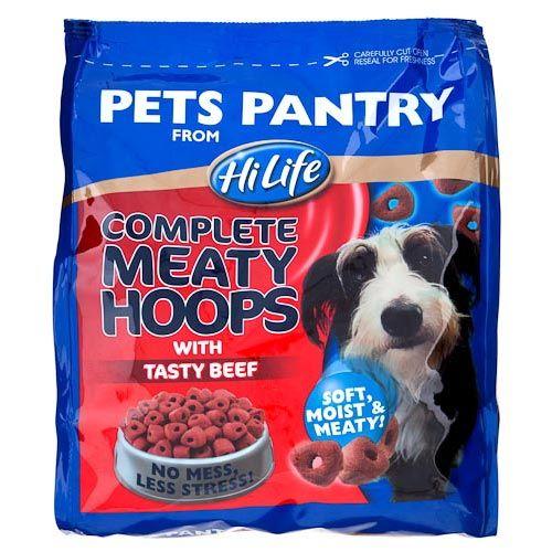 Pets Pantry Moist Beef Hoops 675g