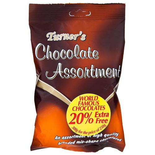 Turners Milk Chocolate Assortment 250g