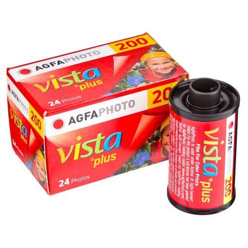 AGFA VISTA PLUS  CAMERA FILM 200/24