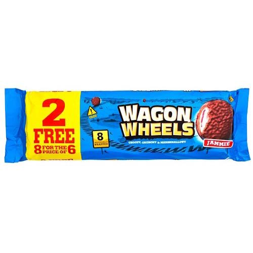 JAMMIE WAGON WHEELS 6 PACK + 2 FREE