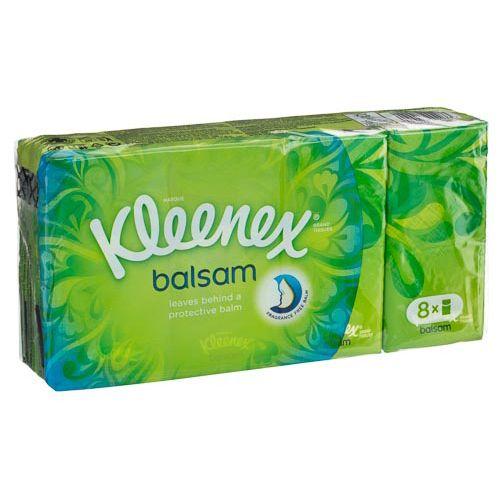 Kleenex Balsam Pocket Tissues 8pk