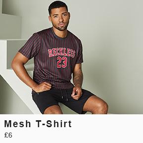 Mesh T-Shirt - £6