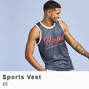Sports Vest - £3